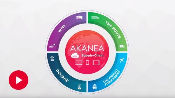 Digitalisation de la chaîne logistique : AKANEA Supply-Chain