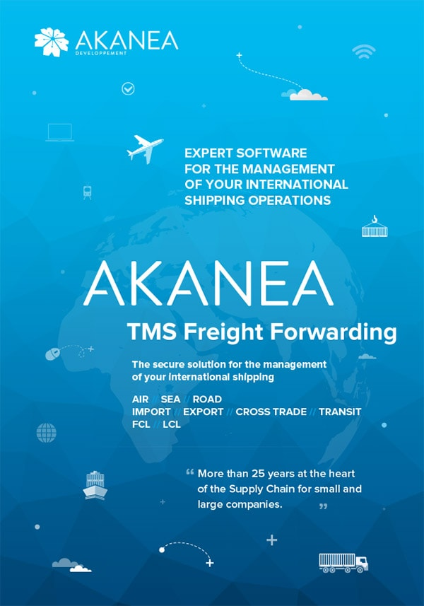 Brochure Akanea TMS Freight Forwarding